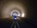 Měření v dálničním tunelu